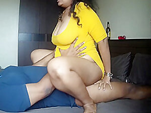 Busty Indian Hottie Bunks Work & Gets Fucked Brutally by Boyfriend