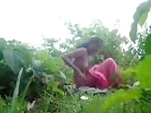 Desi Village Couple Fucking Outdoor