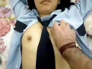 Student From Training College Sucking Teacher's Pecker