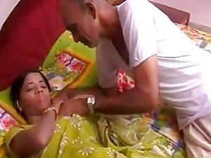 Amateur indian grandpa granddaughter for money