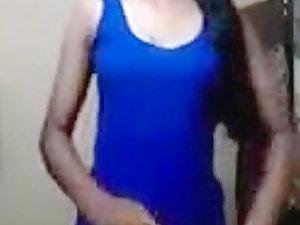 Gorgeous Indian college girl Masturbates