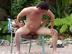 Indian cutie with a tight little snatch gets wrecked outdoors
