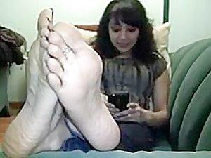 Exotic homemade Foot Fetish xxx scene