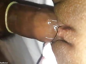 Newly married Indian wife has a very tight pussy, painful