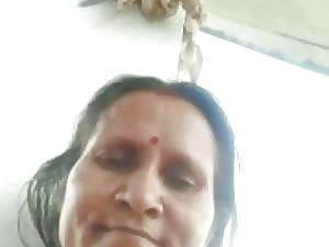 Aunty watching me jerking of part 2