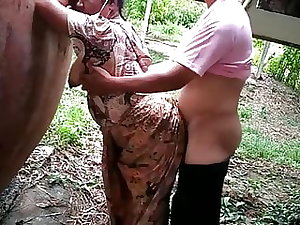 Indian mom fucked from behind