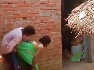 Indian village mom fucked in saree