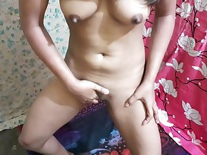 Wet thirsty pussy needs a big cock