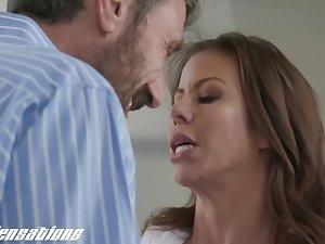 New Sensations - Busty Mom Alexis Fawx Sexy Quickie